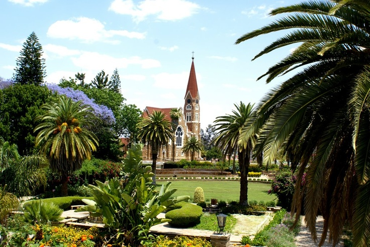 Windhoek, Namibia - one of the destinations on our Namibia & the Pride of Africa rail holiday https://www.greatrail.com/holiday-destinations/africa/namibia/windhoek/