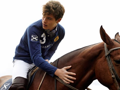 preppy guy playing polo, messy hair and all!!! oh yes!!!!!!