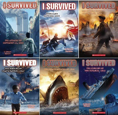 i survived series 6 book set includes the sinking of the