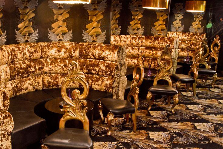 Opulent banquette seating and nightclub furniture by Fitz Impressions - Pryzm Nightclub, Bristol