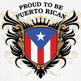 Cool crest design with national flag of Puerto Rico motif and slogan: 'Proud to be Puerto Rican'. Great Puerto Rican pride gear.