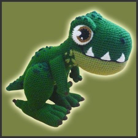Amigurumi Dinosaurio Patron : 25+ best ideas about Crochet dinosaur on Pinterest ...
