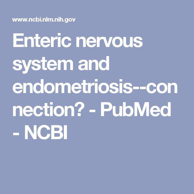 Enteric nervous system and endometriosis--connection? - PubMed - NCBI