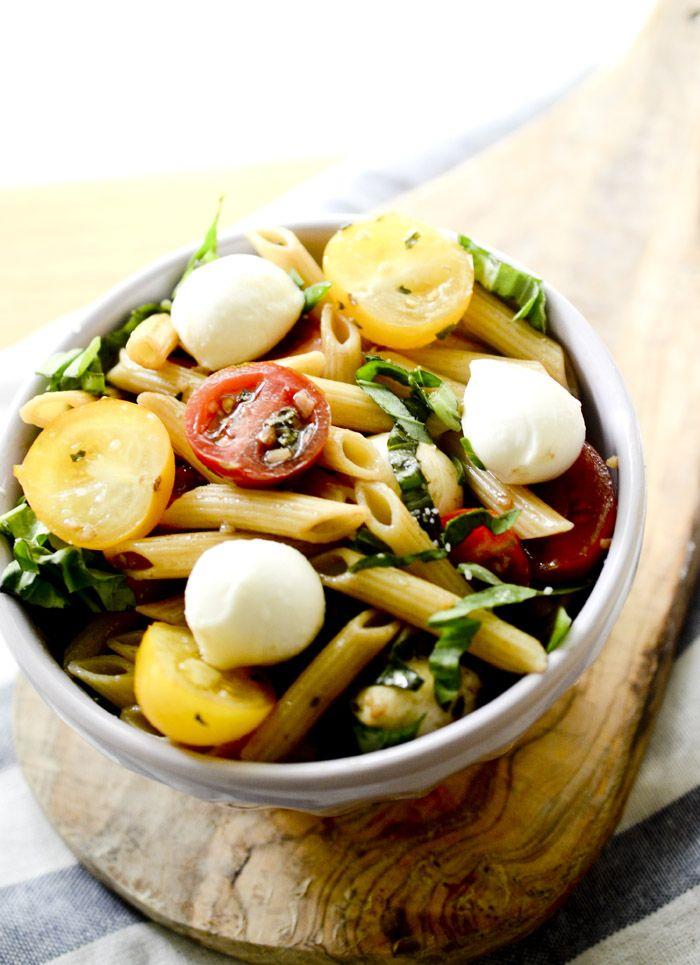 Weight Watcher's Caprese Pasta Salad – Recipe Diaries