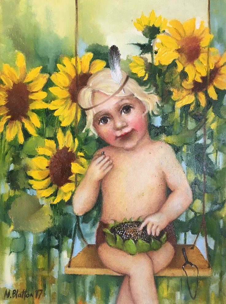 "BLATTON - ""SUMMER"" #fineart #oilpainting #oilpaintingoncanvas #artist #artists #painter #painters #painting #paintings #oilpaintings #oiloncanvas #artwork #figurativeart #portrait #contemporaryart #modernart #dailypainting #Blatton #MonicaBlatton"