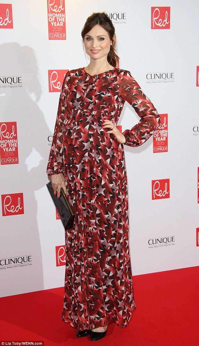 She's got star power! Sophie Ellis-Bextor ruled the red carpet at the Red Women Of The Year 2015 Awards, held at the Skylon Bar in London on Monday evening