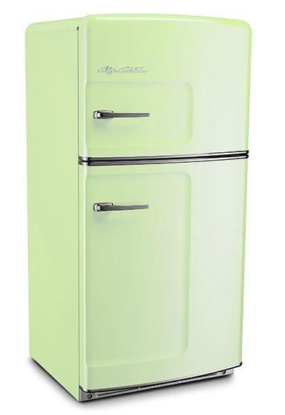 Original Size Big Chill retro refrigerator Jadite Green, $3,500ish including shipping