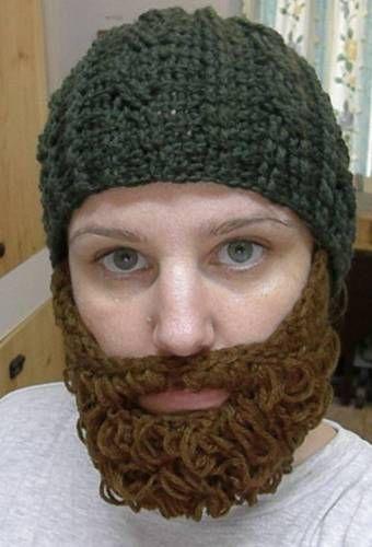 86 best Beard hat images on Pinterest | Crochet hats, Crochet beard ...