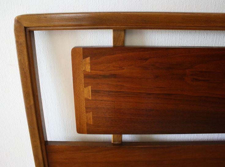 Mid Century Modern Lane Acclaim Headboard   Picked Vintage