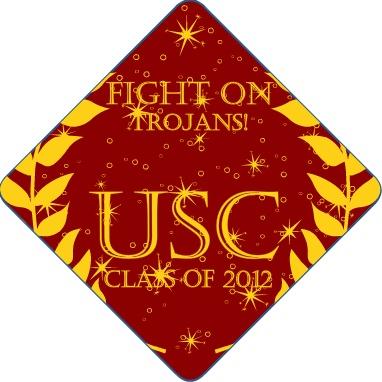 USC Trojans Tassel Topper #usc #college #graduation