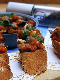 Makacska konyhája: Caponata, vagyis olasz padlizsán ragu