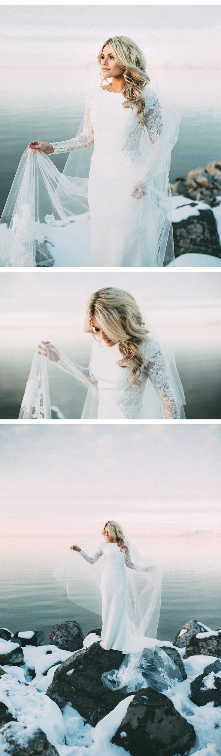 Our muse winter wonderland in salt lake city wedding for Salt lake city wedding dresses