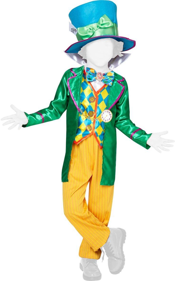Rubie's Disney Alice nel Paese delle Meraviglie - Cappellaio Matto costume bambino