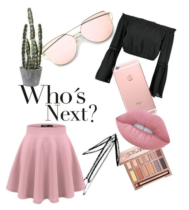 """""""Untitled #5"""" by tilda-hedblom on Polyvore featuring Boohoo, Urban Decay and Lime Crime"""