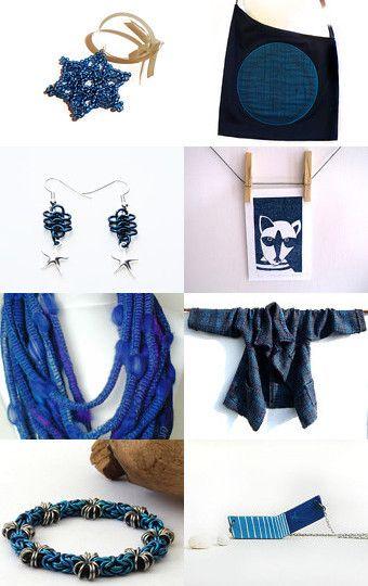 Blue Tones--Pinned with TreasuryPin.com