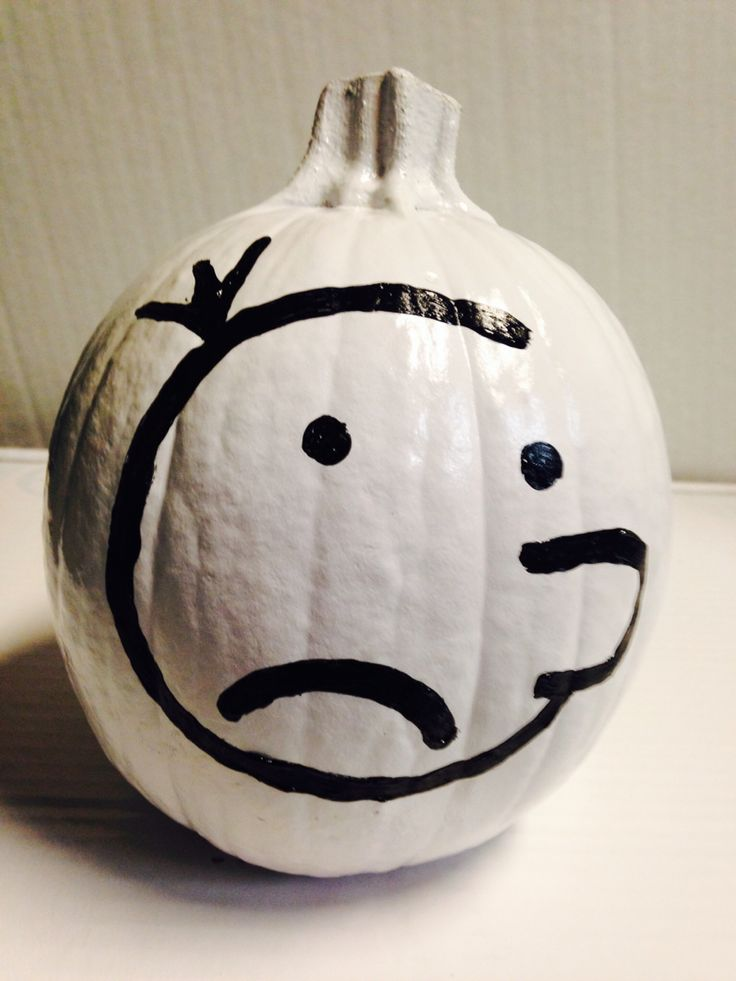 Pumpkin Book Report Diary Of A Wimpy Kid Topher