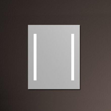 miroir lumineux antibu e pour salle de bain cadre en aluminium tr s l gant miroir prot g des. Black Bedroom Furniture Sets. Home Design Ideas