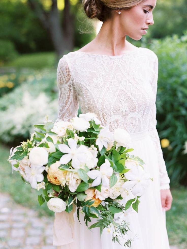 Refined And Authentic Garden Wedding Ideas Via Magnolia Rouge Bouquet By Studio Fleurette At The