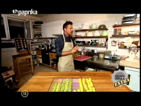 Macaron Nap 2012. és a Zazzi Cukrászda (TV Paprika - Receptdaráló Extra) - YouTube