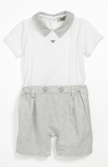 Romper (Infant) for baby boy for Easter | Nordstrom I have used this photo.