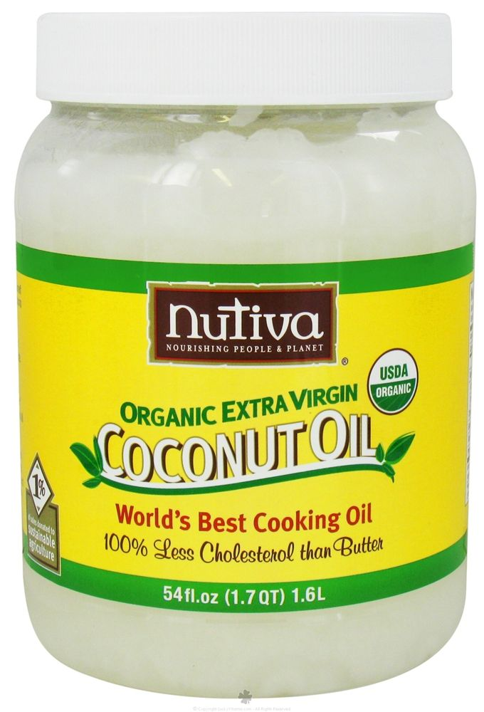 Nutiva Coconut oil--amazing on skin, great for hair treatments, and healthy cooking oil.