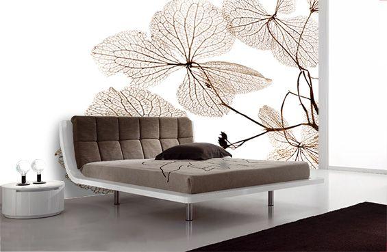 Murales fotogr ficos hojas de oto o decoraci n beltran - Hojas de decoracion ...