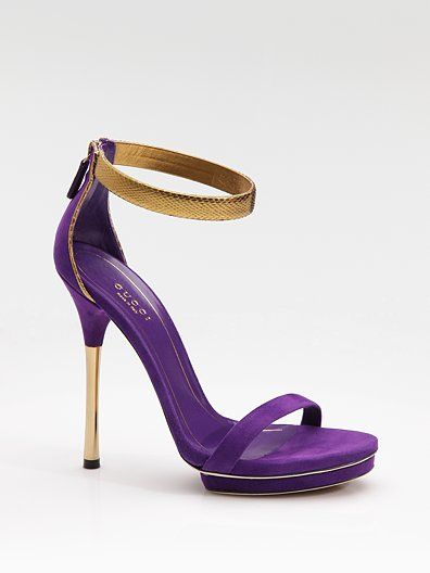 Best 25  Purple heeled sandals ideas on Pinterest | The fabulous ...
