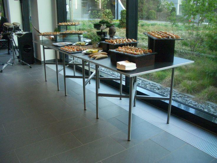Buffet Cubes At The Lufthansa Training Conference Center Seeheim Event