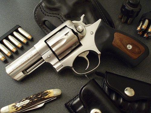 Ruger revolver.