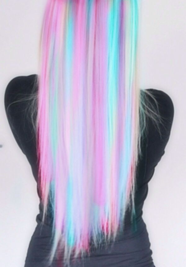 OMG I LOVE THIS HAIR ITS LIKE COTTON CANDY!