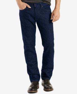 Levi's 541 Athletic Fit Rigid Twill Pants - Blue 38x29