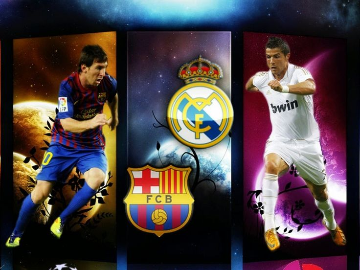 sparksnail: Barcelona Vs Real Madrid means Messi vs Crist.Rona...