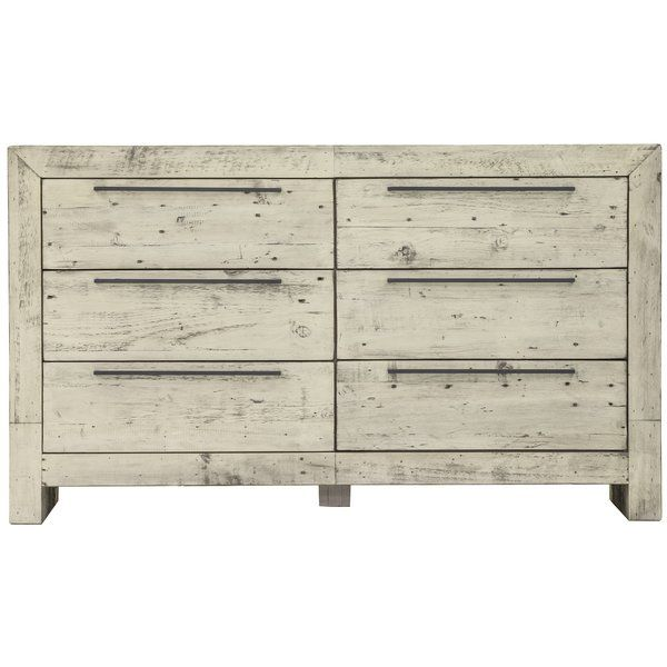 This Chesterbrook 6 Drawer Double Dresser was made for beachy sands and warm weather. Made with Reclaimed pine and finished in a beautiful sandstone color.