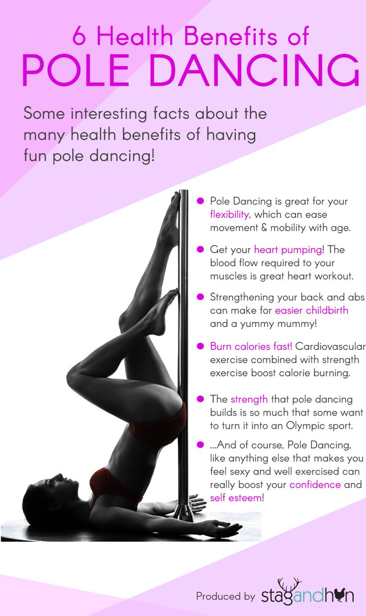 6 Health Benefits of Pole Dancing