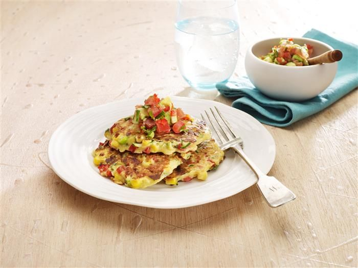 A vegie-licious way to start the day! Save the extras as a lunchbox treat.