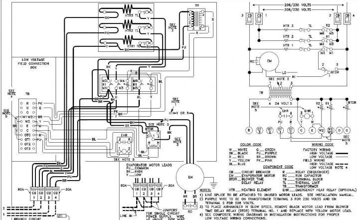 diagram coleman electric air handler wiring diagram full