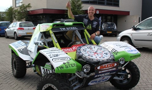 Elektrische buggy 2012 van Tim Coronel.  https://www.youtube.com/watch?v=e0-C2SRvWvI en https://www.youtube.com/watch?v=H5SrBghGipg