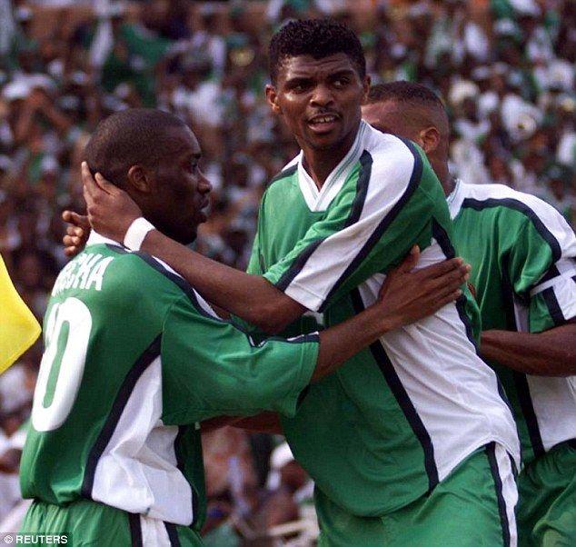 Former Arsenal striker Nwankwo Kanu used to lead the lead for Nigeria