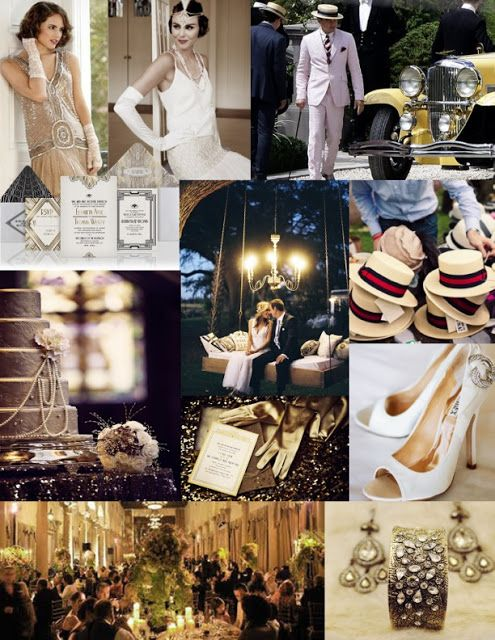 Plan-a-Wedding-on-a-Budget: 1920's Great Gatsby Theme