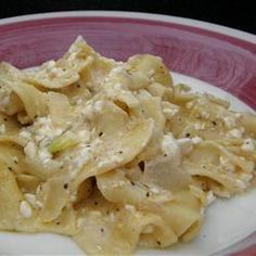 Polish Noodles (Cottage Cheese and Noodles) Recipe Sounds weird but i like cotta…