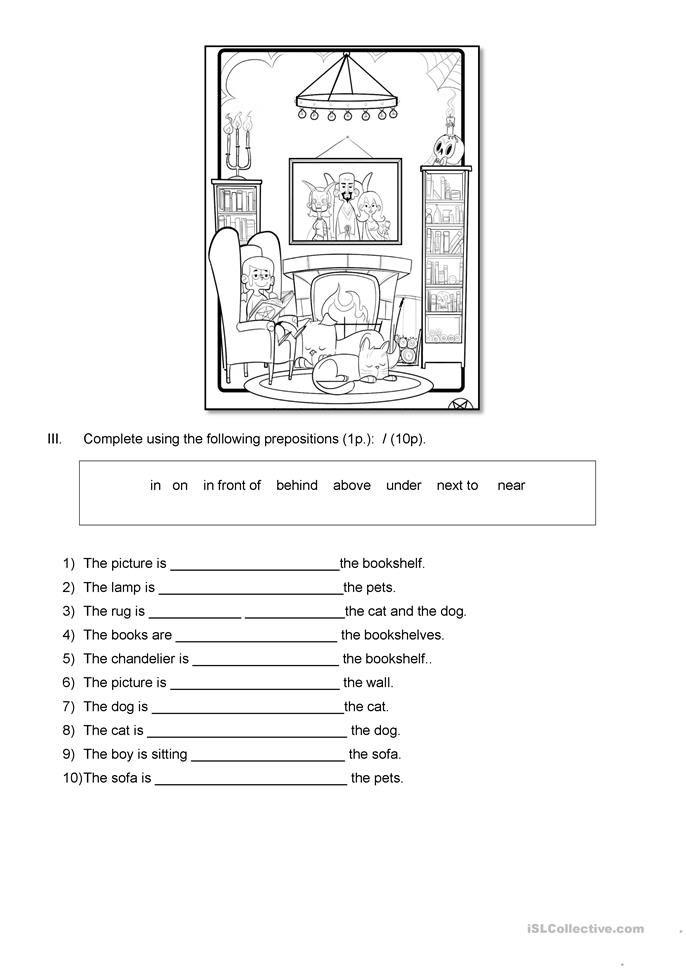 House Vocabulary English Worksheets Www.robertdee.org