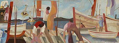 Drying Sails - Robert Juniper