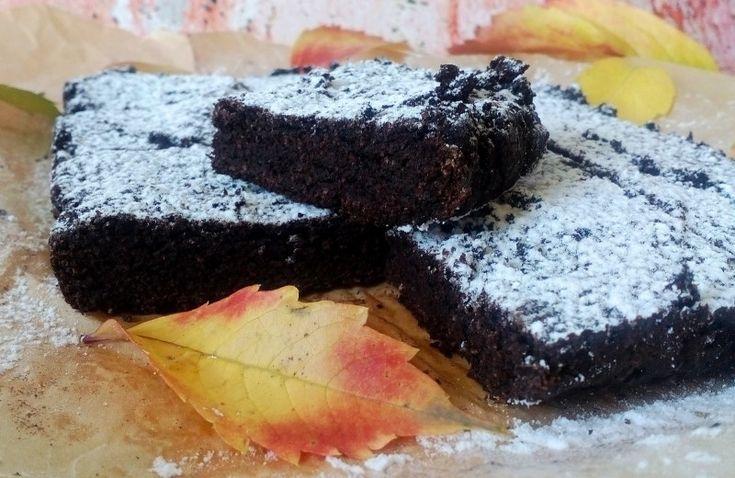 sütőtökös brownie diétásan