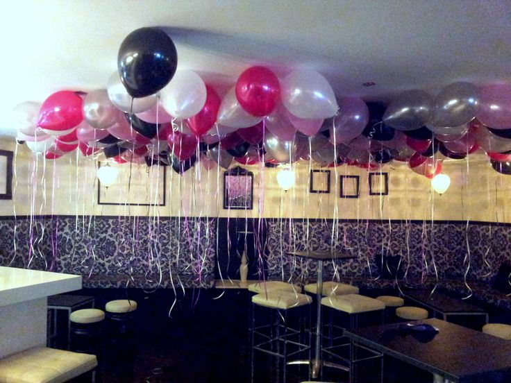 Helium Balloons Decoration Ideas