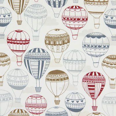 Balloon Ride 1 - Bavlna - barva vlny