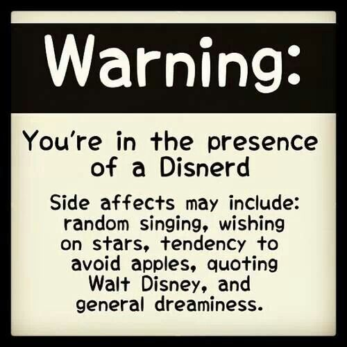 Disnerd - a word coined and defined by Zachary Levi, our beloved Eugene Fitzherbert :)