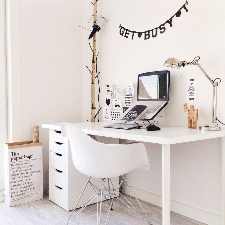 bureau / blanc