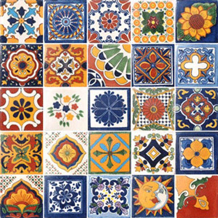 60 best spanish tile designs images on pinterest tile for Spanish clay tile