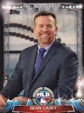 2017 Topps Series 1 Baseball MLB Network #MLBN-7 Sean Casey