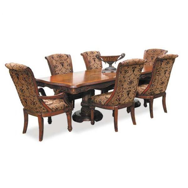 Tuscany Villa 7 Piece Dining Set By Crown Mark Lustrous